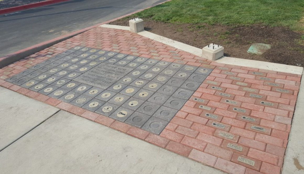 Ashland High School Engraved Brick Fundraiser1