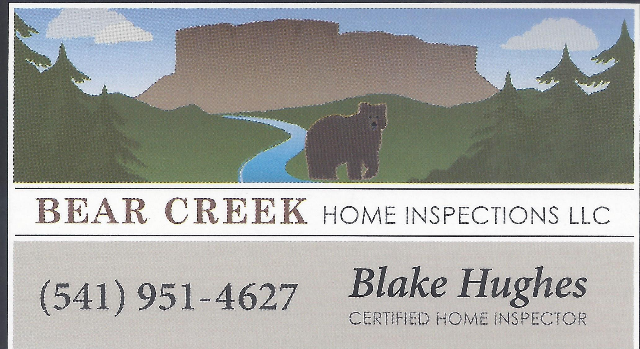 Bear Creek Home Inspections