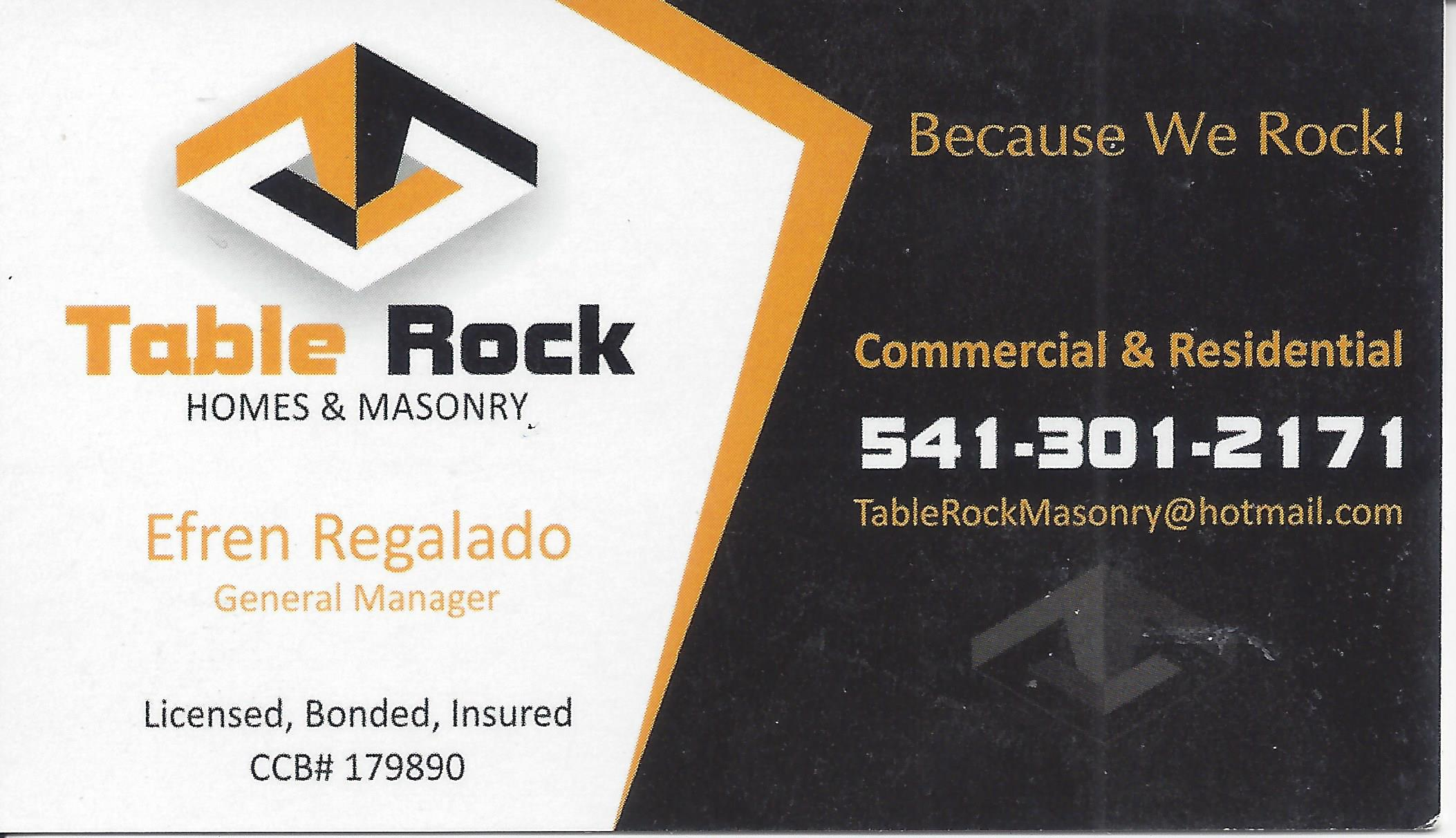 Table Rock Masonry
