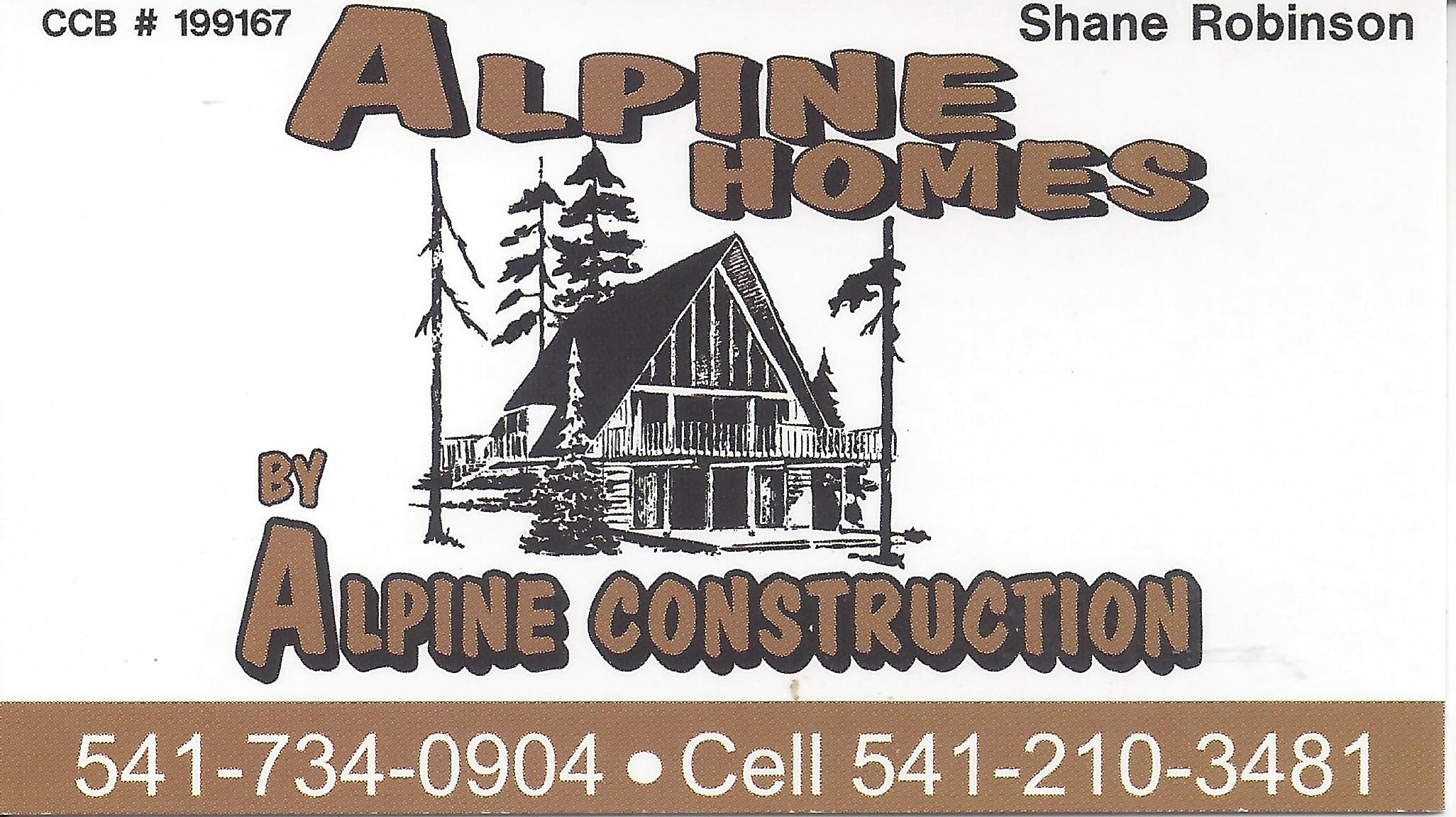 Alpine Homes Construction