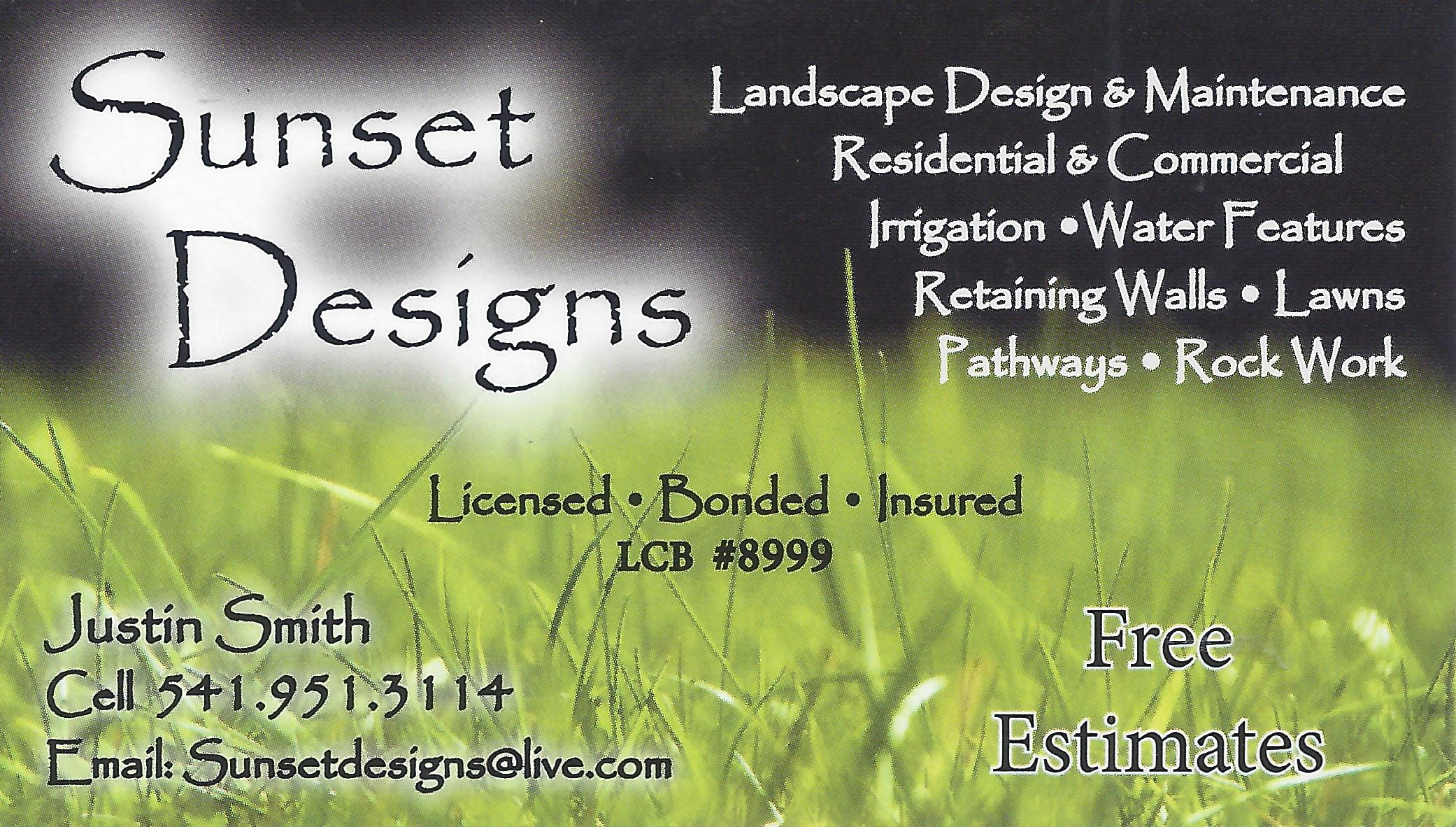 Sunset Designs
