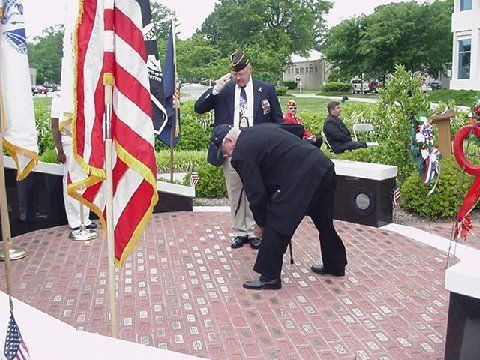 Chesapeake Veterans Memorial Engraved Brick Fundraiser