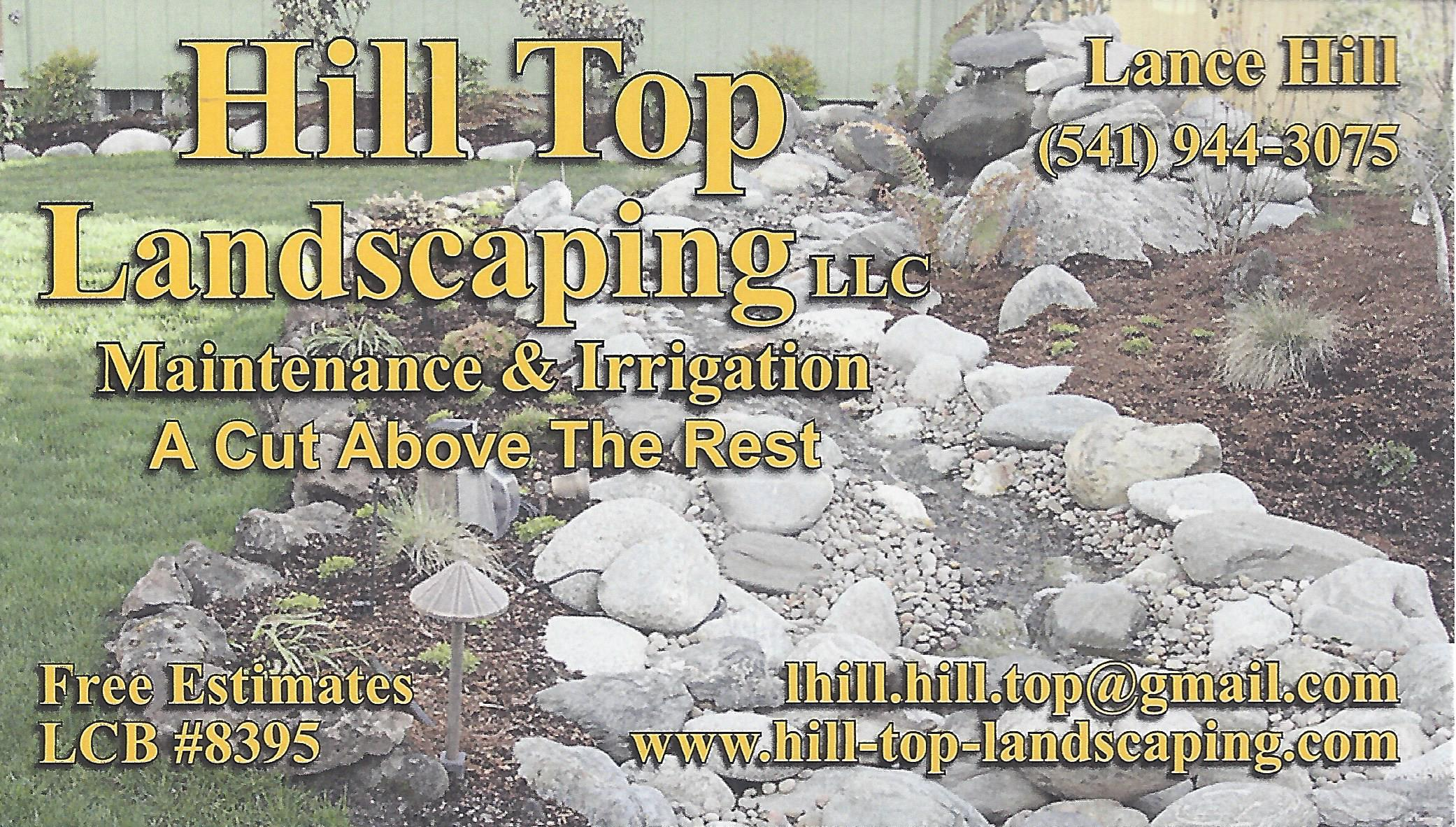 Hill Top Landscaping